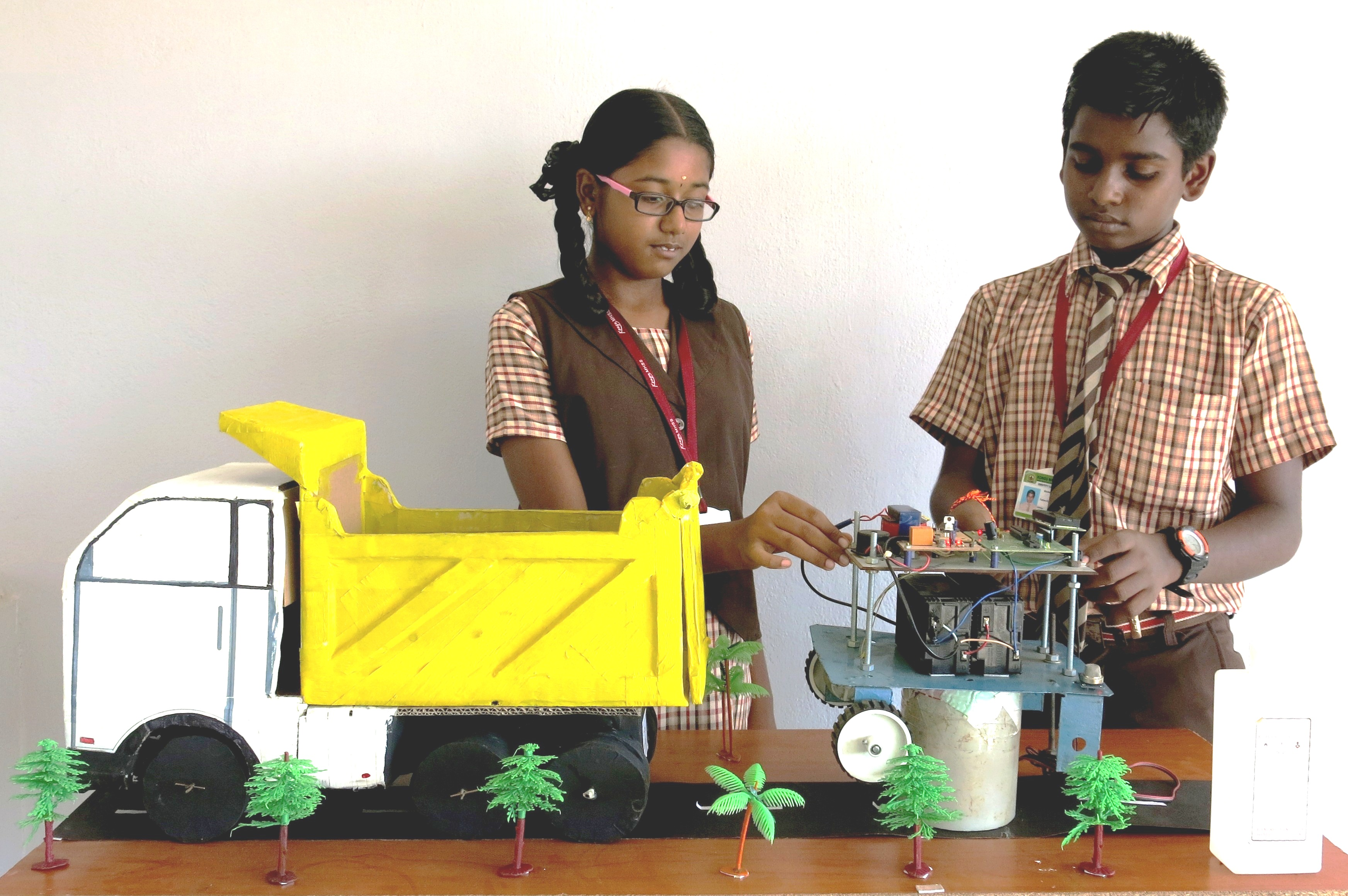 zonal level science exhibition kongu matric higher secondary school